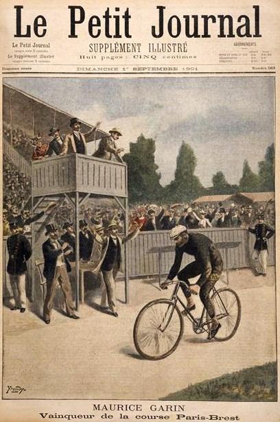 Winning Paris-Brest 1901