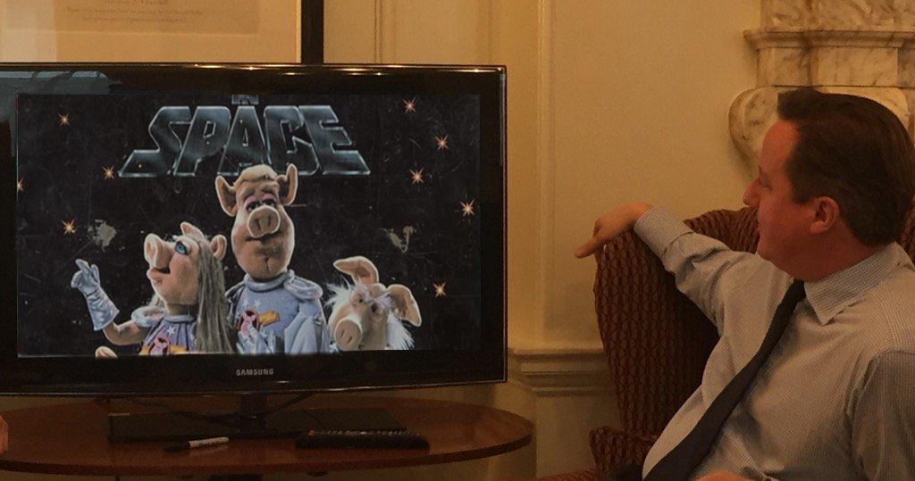 Peake's in Space